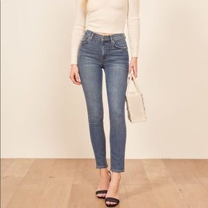 Reformation High Waist Jeans Size 31